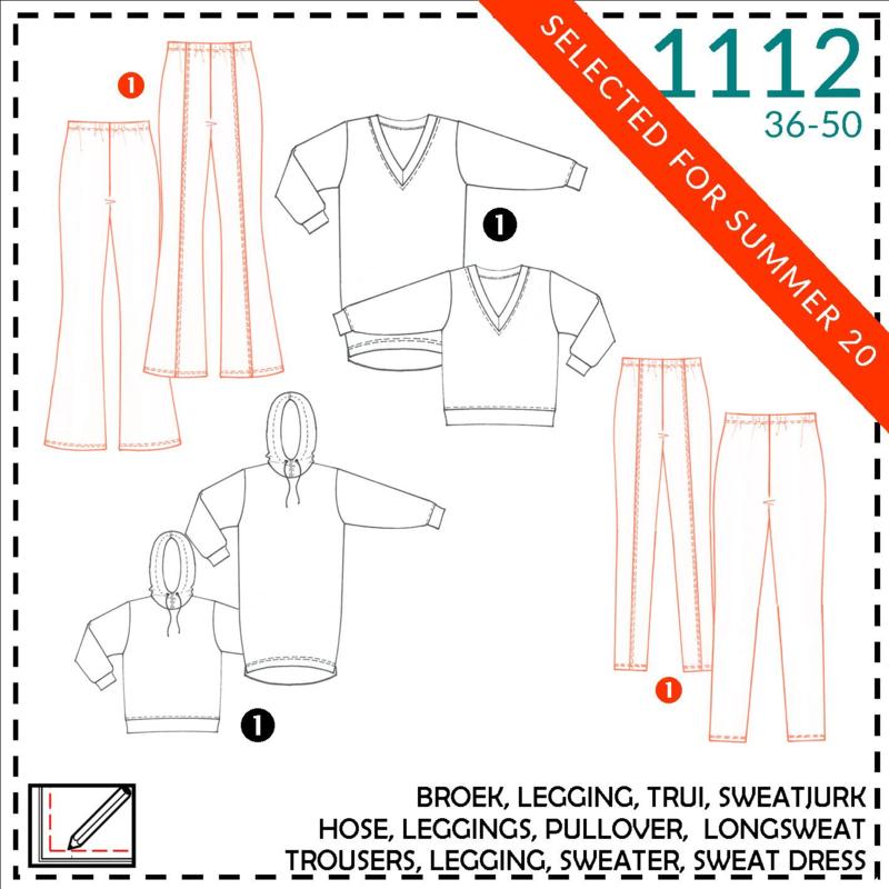 1112, broek/legging: 1 - makkelijk