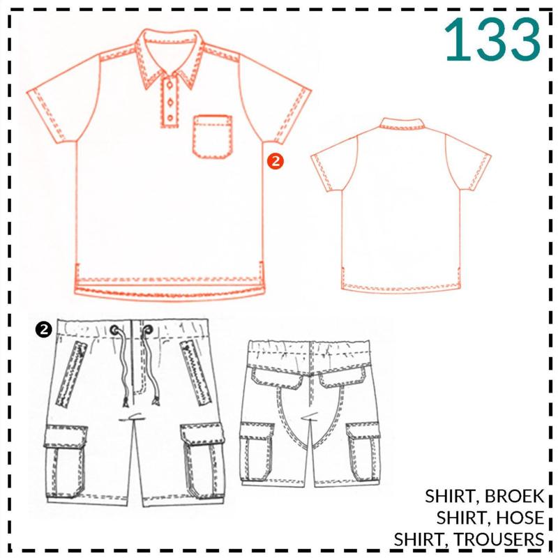 133, shirt: 2 - beetje ervaring