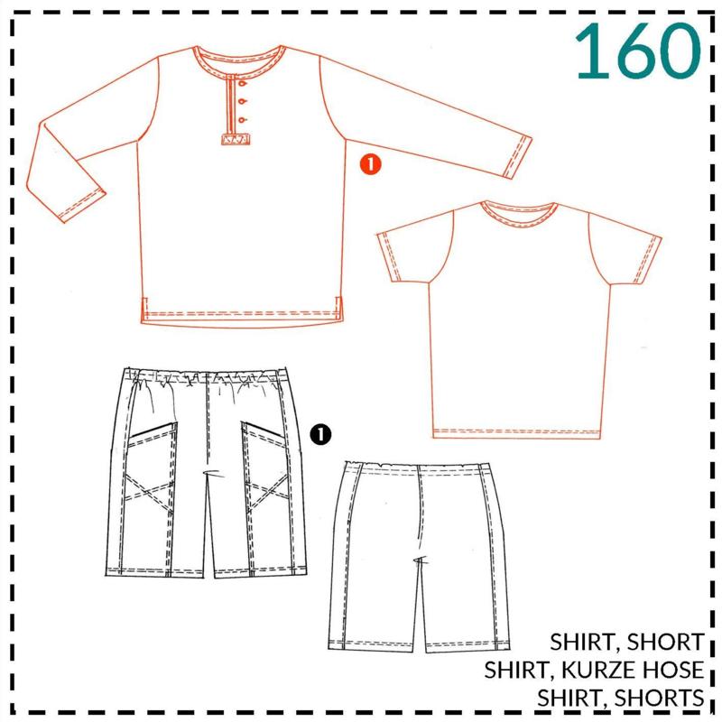 160, shirt: 1 - makkelijk
