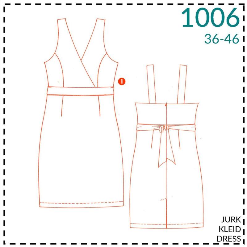 1006, jurk: 1 - makkelijk