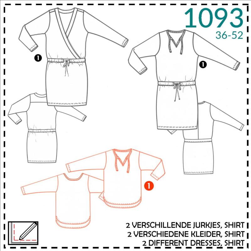 1093, T-shirt : 1 - makkelijk