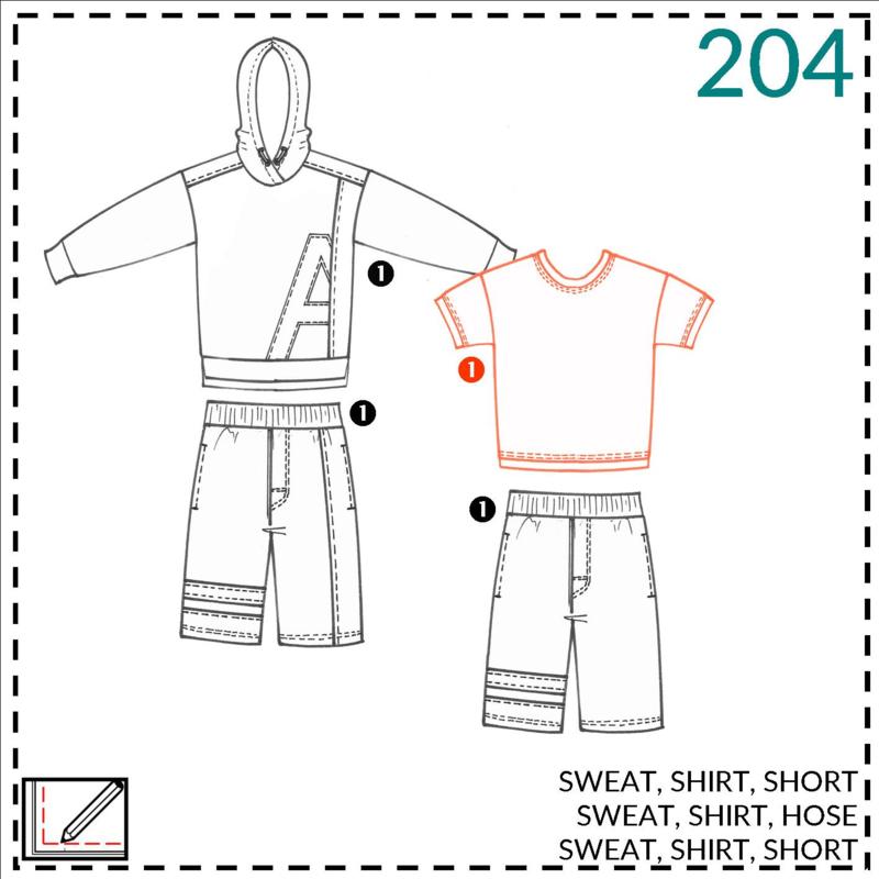 204, shirt: 1 - makkelijk