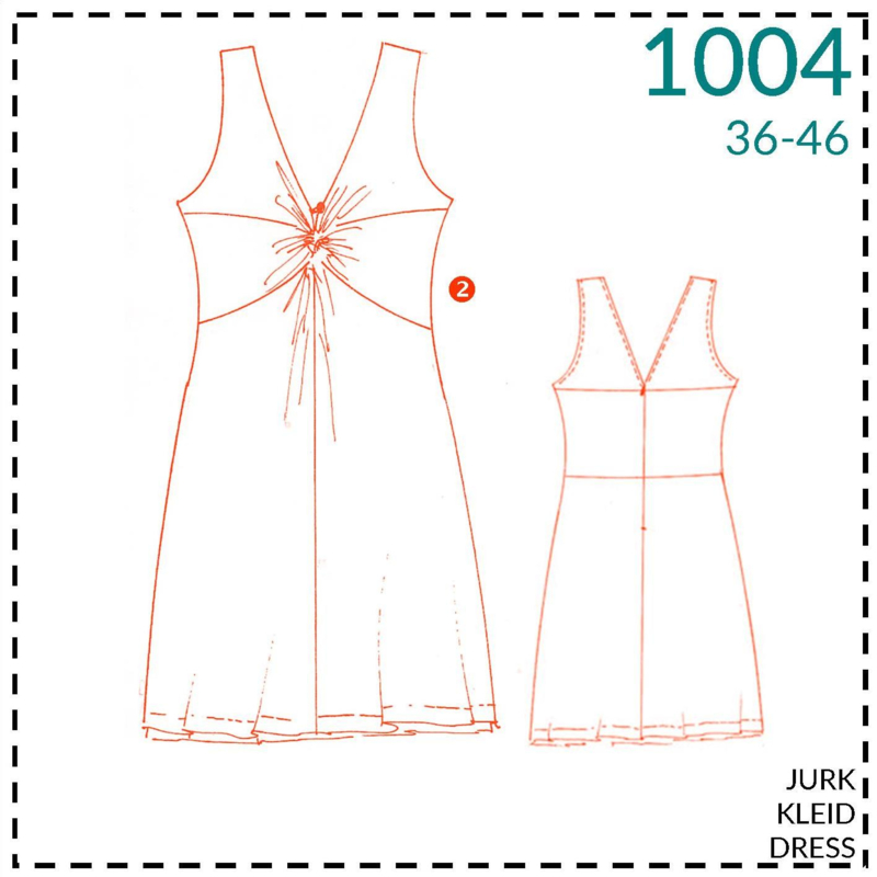 1004, jurk: 2 - beetje ervaring