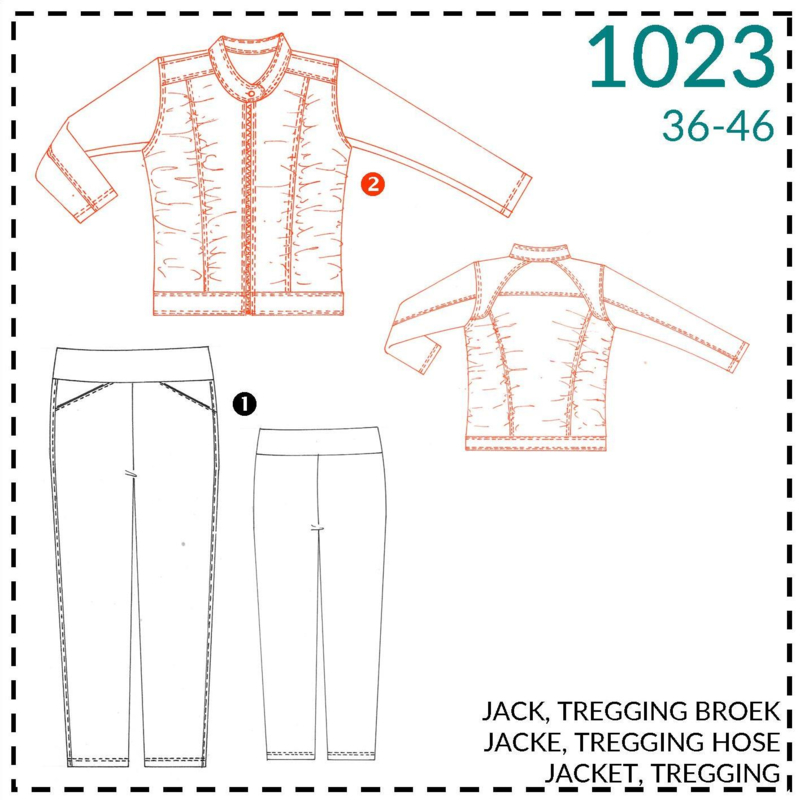 1023, jacket: 2 - little experience