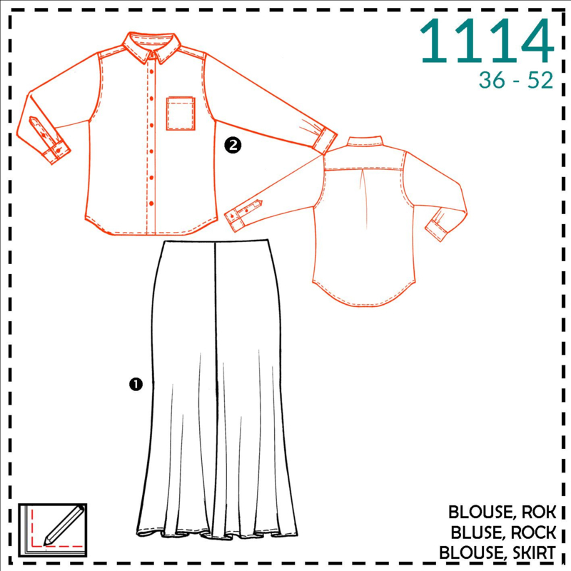 1114: bluse: 2 - etwas näherfahrung