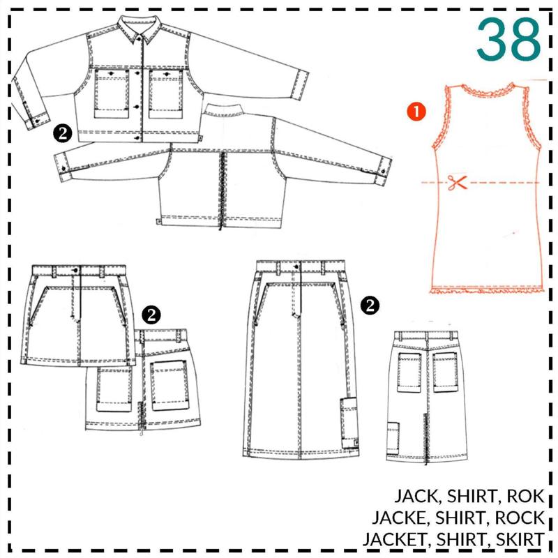 38, shirtje/top: 1 - makkelijk