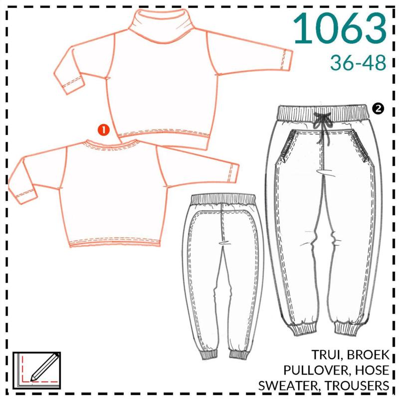 1063, trui: 1 - makkelijk