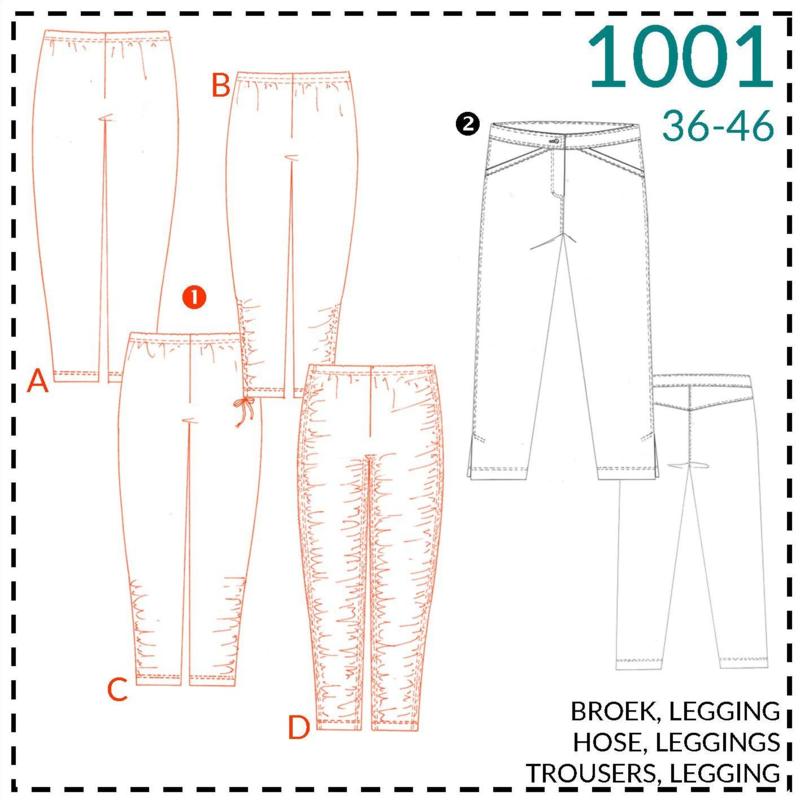 1001, leggings: 1 - makkelijk