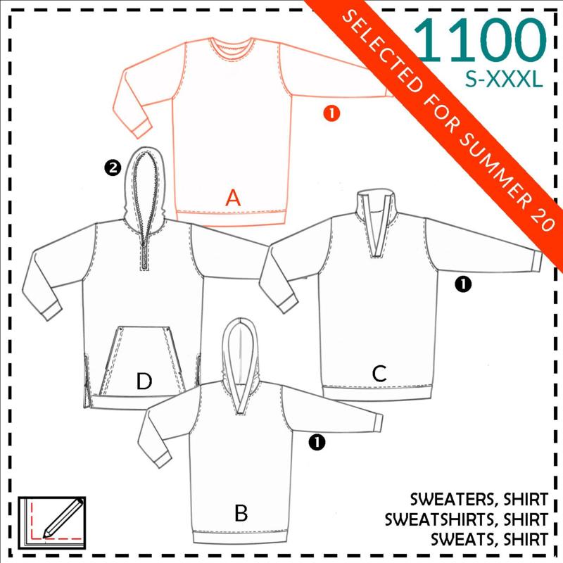 1100, Shirt: 1 - einfach