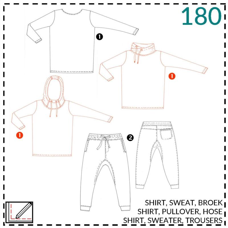 180, sweater: 1 - makkelijk