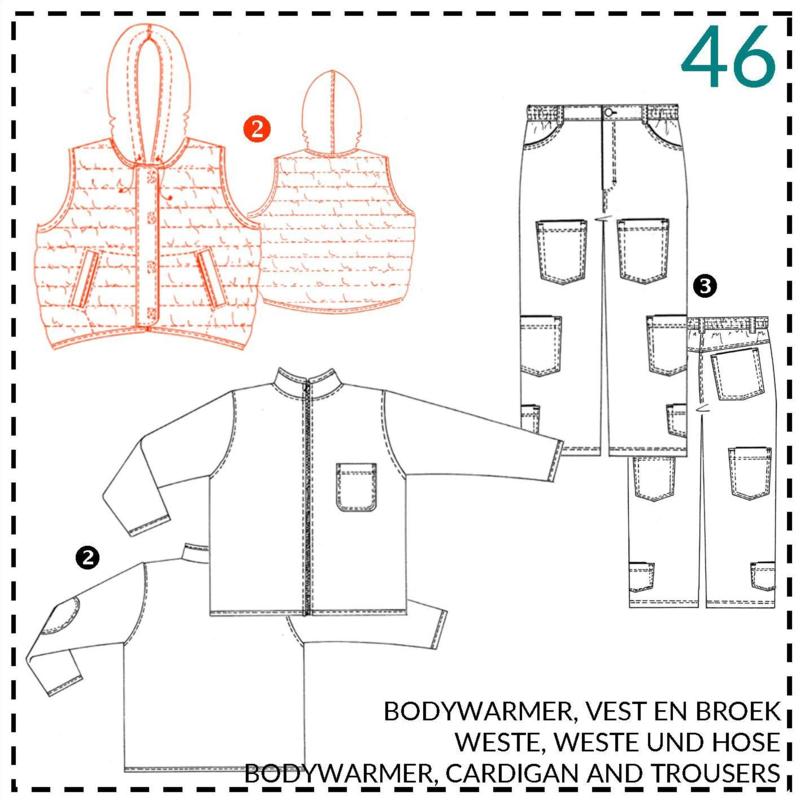 46, bodywarmer: 2 - beetje ervaring