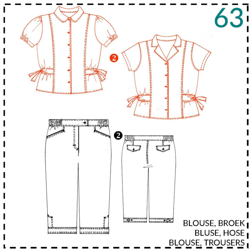 63, blouse: 2 - beetje ervaring