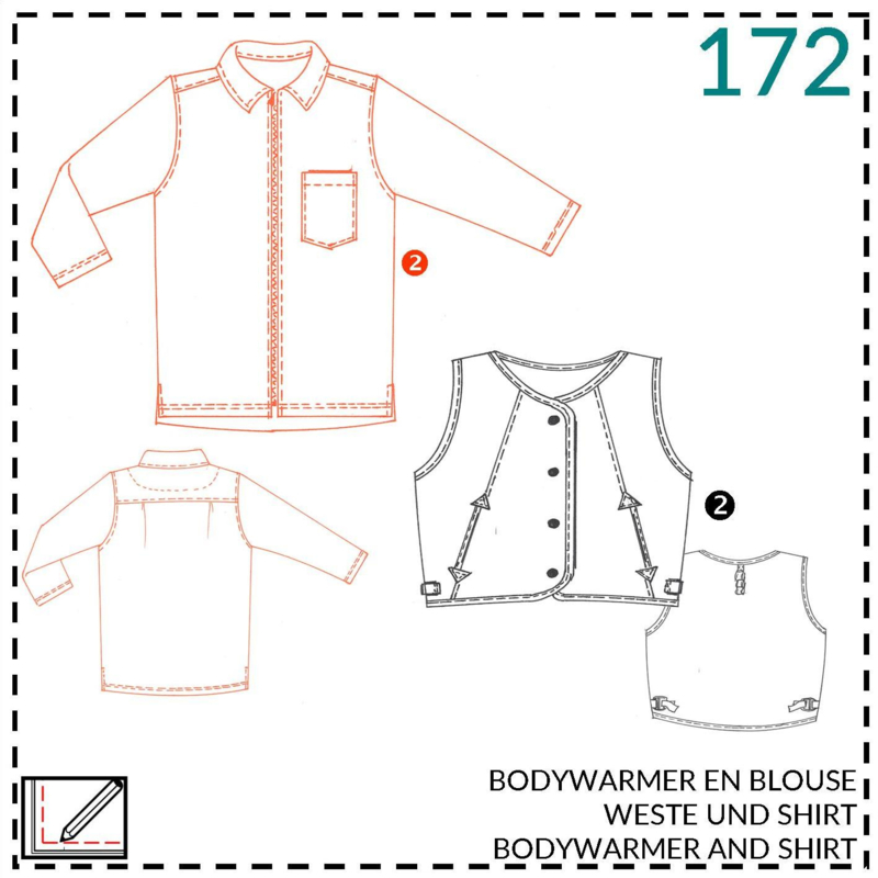 172, blouse: 2 - beetje ervaring