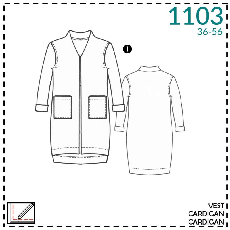 1103, vest