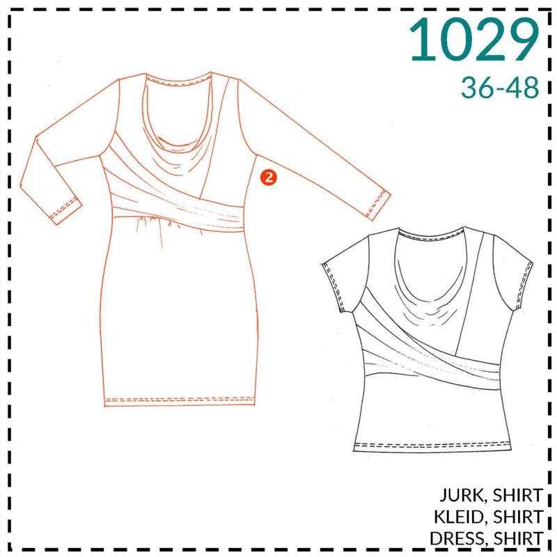 1029, jurk: 2 - beetje ervaring