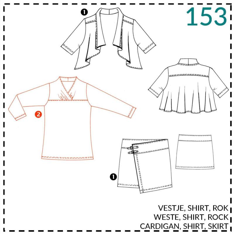 153, Shirt: 2 - etwas Näherfahrung
