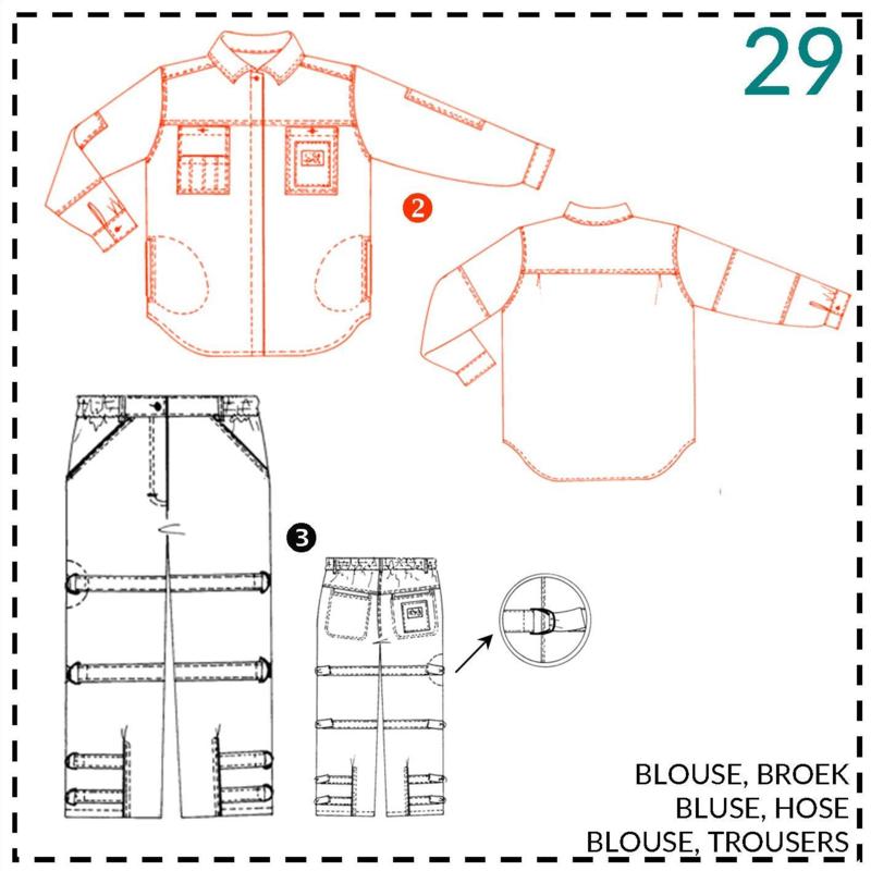 29, blouse: 2 - beetje ervaring