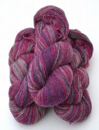 6/1-01 Cerise-lila-grå melerad