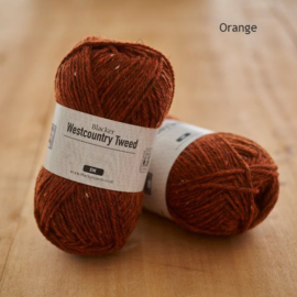 Westcountry Tweed - Orange