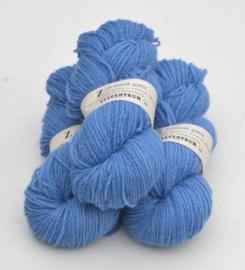 Z-4151 Himmelsblå på vit ull