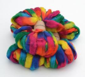 Wool tops - Regenboog