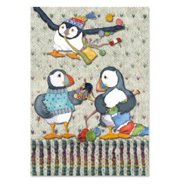 Emma Ball - Project Notebook - Woolly Puffins