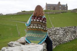 Shetland shawl