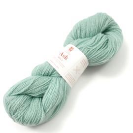 Ask - Ullgarn, isgrønn 6126
