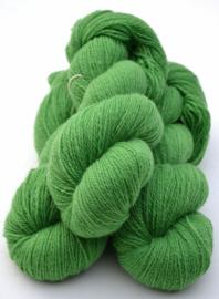 6/2-3101 Ärtgrön på vit ull