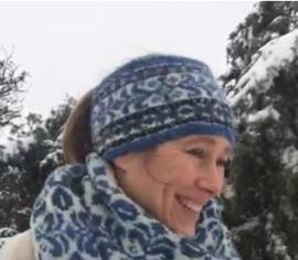 Winterwonder hoofdband