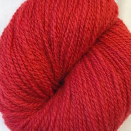 Sol – Norsk lamullgarn, rød