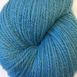 Sol – Norsk lamullgarn, lys flyblå