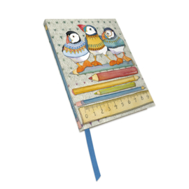 Emma Ball - Note Book - Woolly Puffins