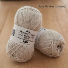Blacker Swan 4-ply Pale Maiden