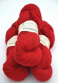 Z-1101 Röd på vit ull