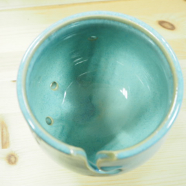 Garenkom/ Yarnbowl - Blauw Glazuur
