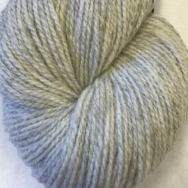 Sol – Norsk lamullgarn, melert lys grå