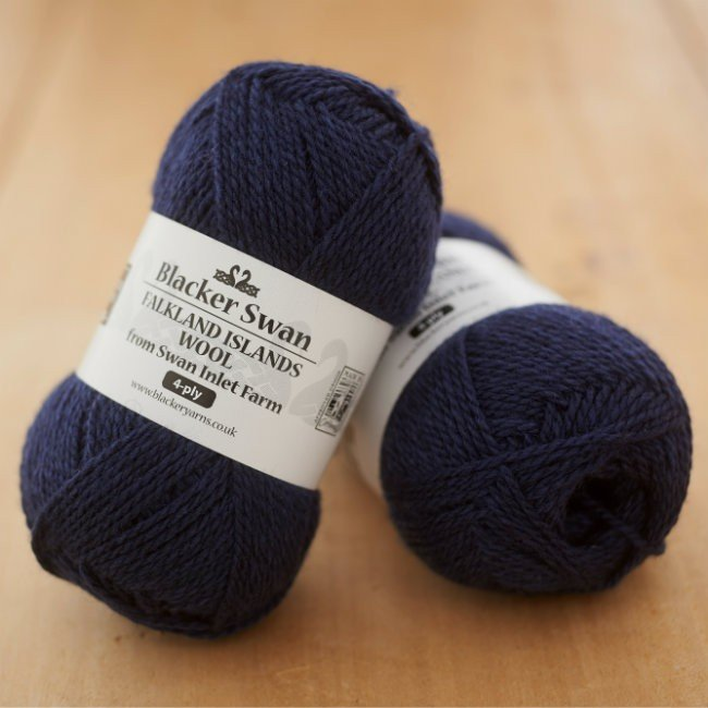 Blacker Swan 4-ply Navy
