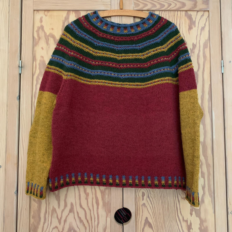 Schaapjeswol sweater