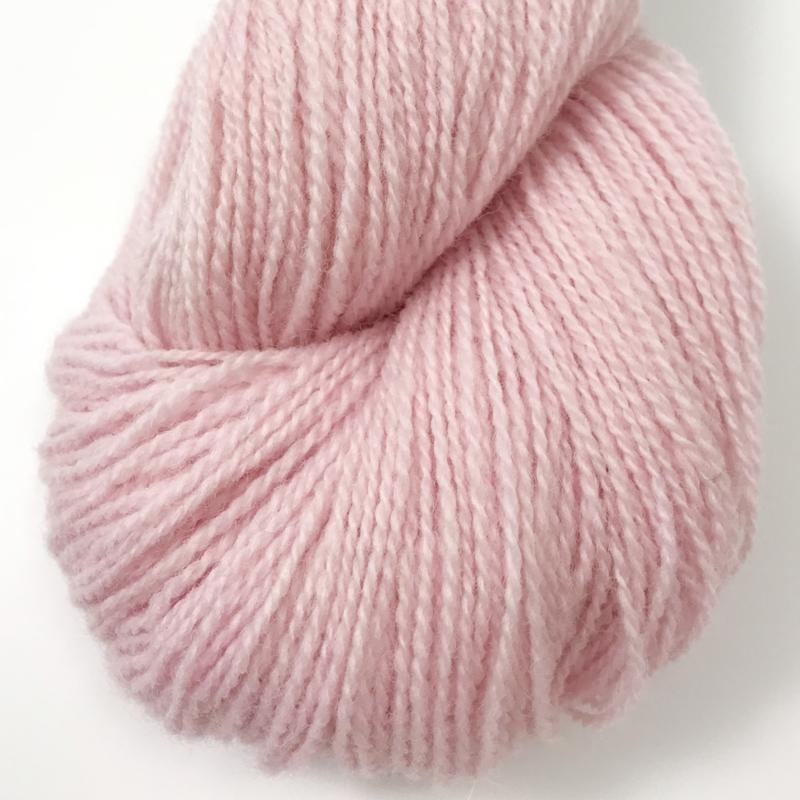 Ask - Ullgarn, lys rosa 6116