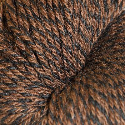 Fjell – Sokkegarn 3, brun/svart molinert