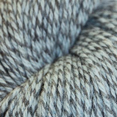 Fjell – Sokkegarn 3, lys grønnturkis/grå molinert