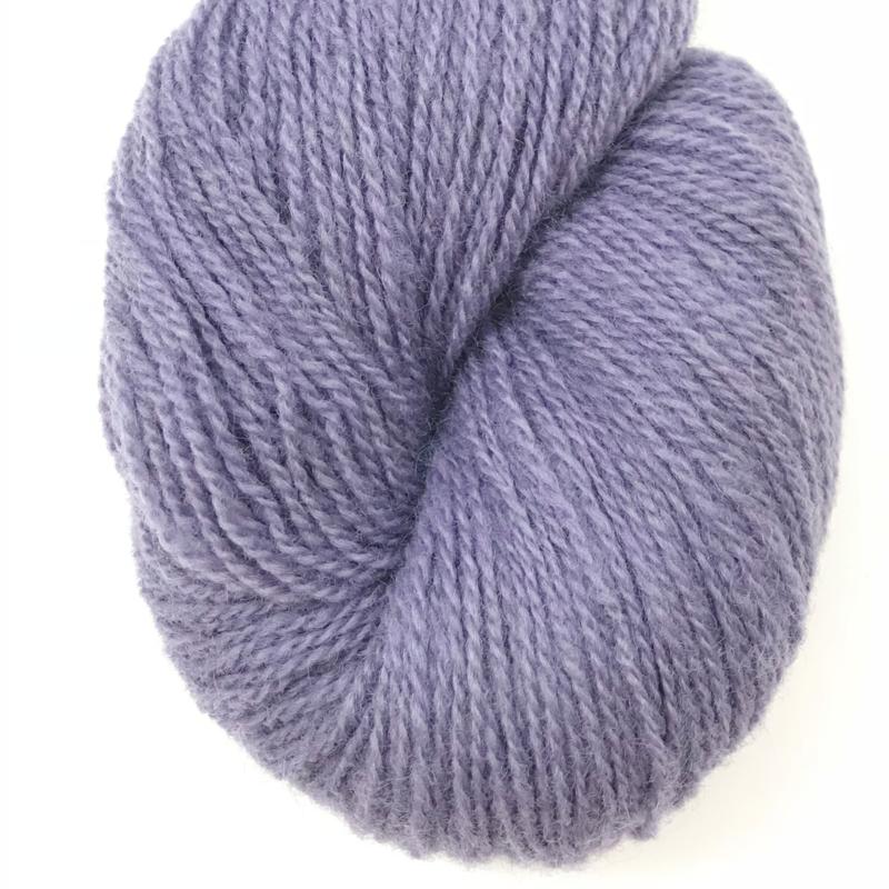 Ask - Ullgarn, grålig lavendelblå 6130