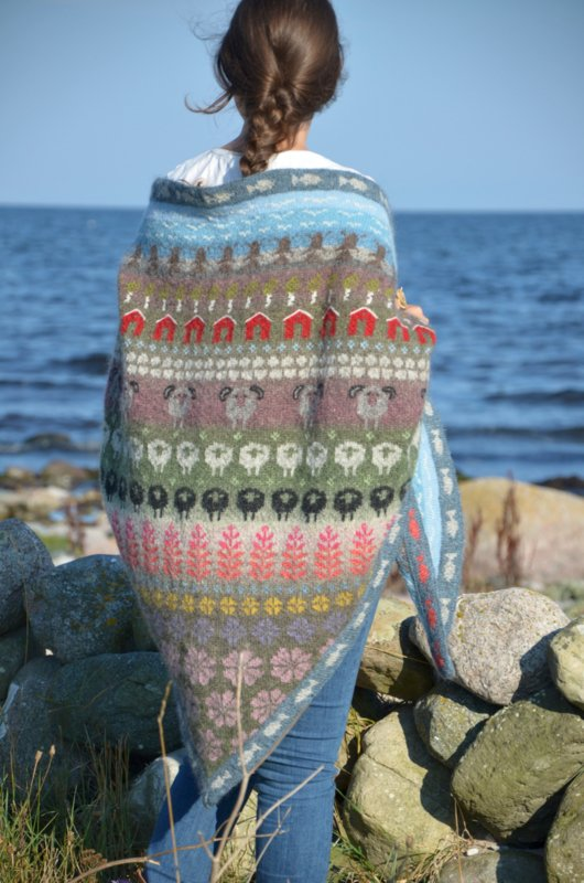 Öland shawl