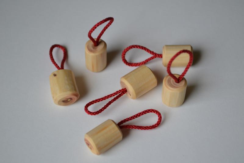 Stitch markers, handmade , 6 pieces