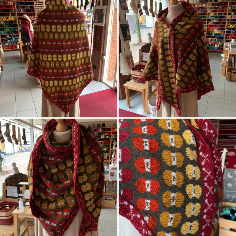 Bolletjes sjaal