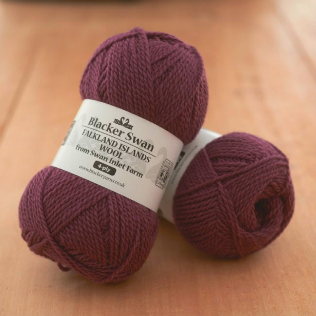 Blacker Swan 4-ply Mountain Berry