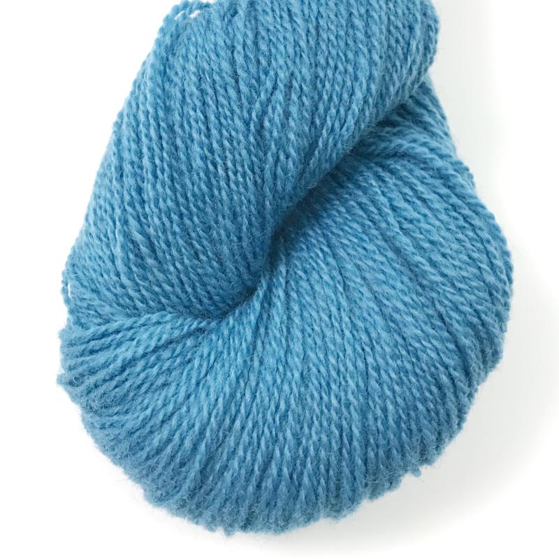 Ask - Ullgarn, lys flyblå 6128