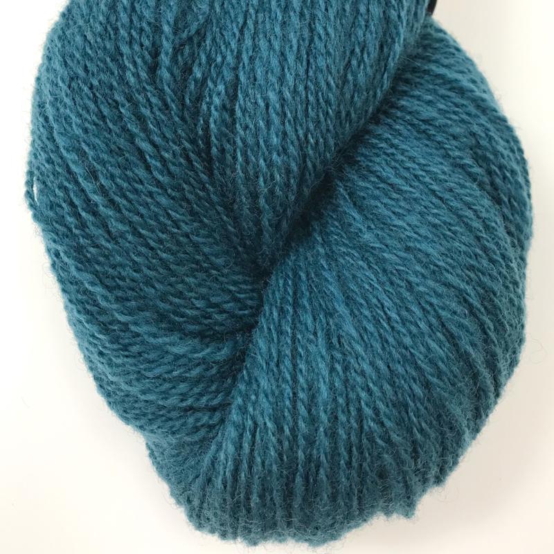 Ask - Ullgarn, mørk flyblå 6136
