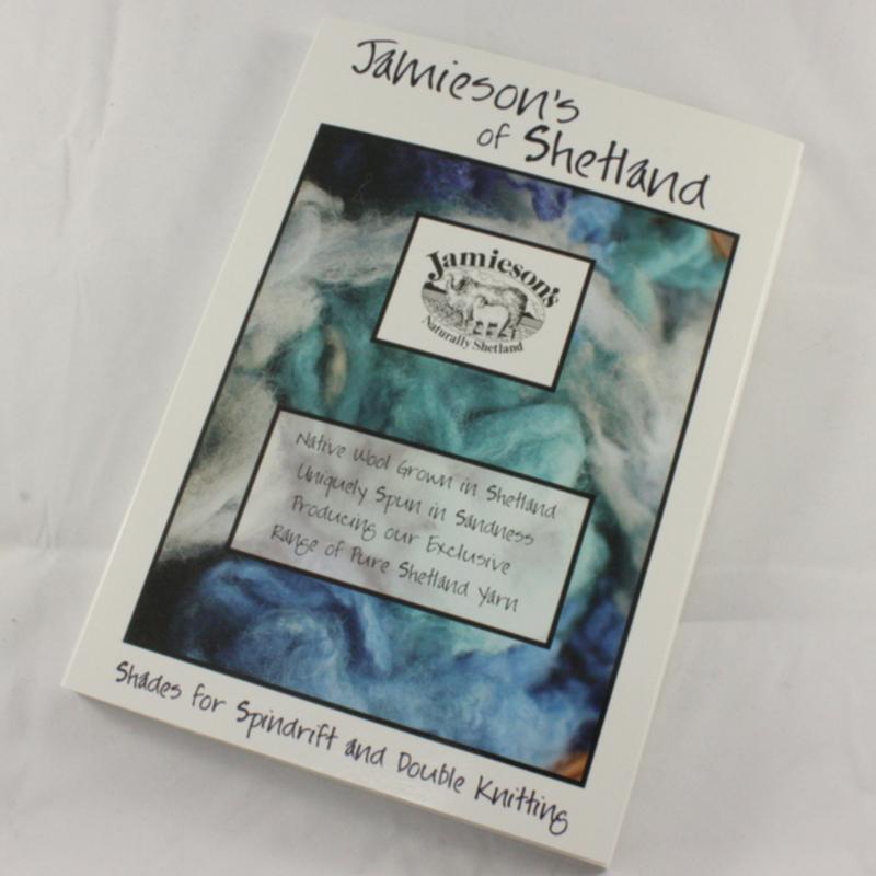 Stalenkaart Jamieson's of Shetland Spindrift